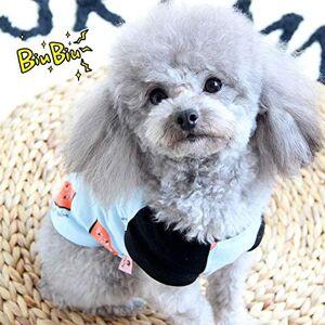 ZHAS Ropa para Perros para el Verano Camiseta para Perros Gato Mascota Chaleco Perros Mascotas Ropa para Perros Ropa de Perrito Chihuahua Bulldog