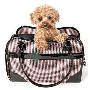 Pet Life 'Exquisite' Handbag Fashion Designer Travel Pet Dog Carrier, One Size, As Displayed