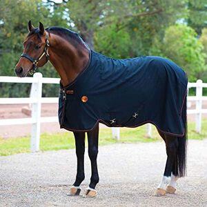 Rambo Blankets Horseware Rambo Ionic Hoja Estable, Negro/Anaranjado, 75