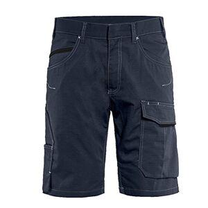 Blaklader 149913308699C44 Pantalón corto de servicio (talla 44), color azul marino y negro