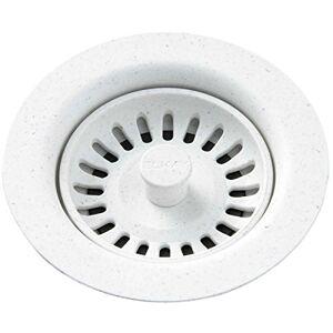 Elkay Desagüe con filtro extraíble, LKQS35, Blanco