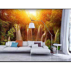 Abihua Mural Custom 3D Foto Wallpaper Salón Mural Oscuridad Bosque Pintura Tv Sofá Fondo Etiqueta De La Pared Wallpaper Para Pared 3D 220Cm X 140Cm