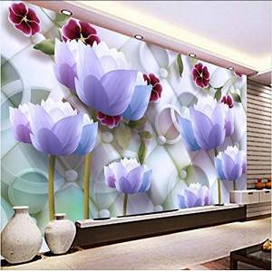 smydp Papel Tapiz Revestimiento De Pared Personalizado De Pared 3D Moderno Hotel Dormitorio Fondo Decoración 3D,120X100Cm