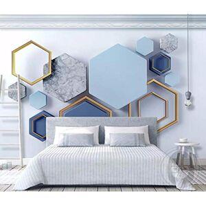 TMwallpaper Costuras de mármol geométricas