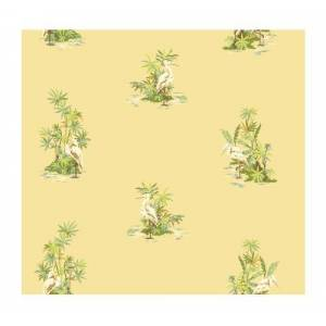 York Wallcoverings AC6146SMP By The Sea Egret Toss 8 X 10 Wallpaper Memo Sample, Yellow/Green by