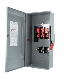 Siemens HF364N 200 amperios, 3 polos, 600 voltios, 4 cables, fusible resistente, tipo 1