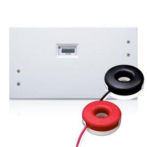 Leviton Kit de mini medidor de 100 Amp con 2 CTs sólidos y caja de interior, 100-Amp
