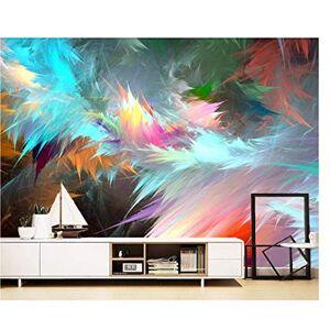 Scmkd Feather Style Wallpaper Muralpara sala de estar Dormitorio Decoración de pared Foto Papel de pared 3D Personalizar-450CMX300CM