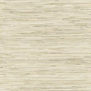 York Wallcoverings GX8220 Passport Grasscloth Papel pintado, beige/crema/marrón moca