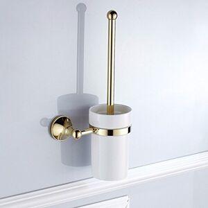 QTQHOME Badaccessoires Sets Continental Kupfer círculo dorado rund um die Basis der Badezimmer Acc Kit klicken Sie auf zweipolige Einzel Doppel Schale Toilettenpapier rack Seife,WC B uuml;rstenhalter