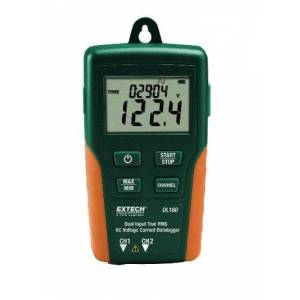 Extech DL160 True RMS Registrador de datos de voltaje y corriente alterna