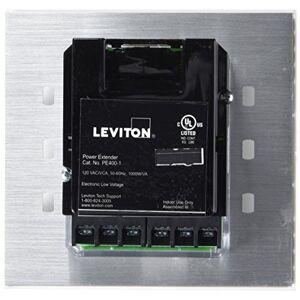 Leviton PE400-10W Extensor electrónico de bajo voltaje y incandescente, 1000 VA a 120 V CA, 50/60 Hz