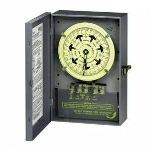 Intermatic T7801B 125-Volt 7-Day Mechanical Time Switch with Nema 1 Indoor Cover