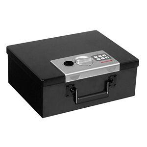 Honeywell Caja de Seguridad Digital Hecha de Acero Resistente al Fuego, 0,26pies cúbicos, 0.26 Cubic Feet, Negro