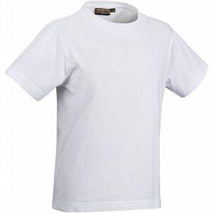 Blaklader 880210301000C164 playera para niños, talla 14T, color blanco