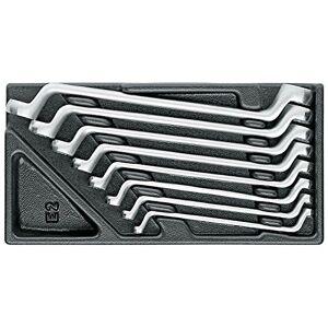 Gedore 1500ES-2doble punta Anillo Juego de llaves en módulo 1/3ES herramienta