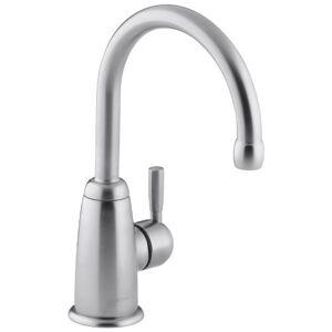 Kohler K-6665-F-G Wellspring Contemporary Beverage Faucet Complete, Brushed Chrome