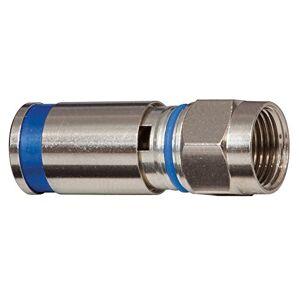 Klein Tools VDV812-623 Conectores Compresión Estándar F RG6 Paquete con 10 pzas.