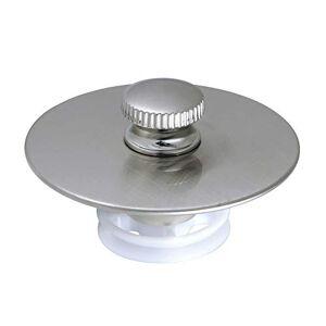 Kingston DTL5304A8 Tapón de desagüe para tina (latón, níquel cepillado)