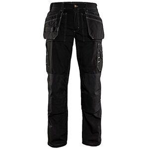 Blaklader Workwear-152518459900C62ligero Craftsman Pantalones, tamaño 46/34, color negro