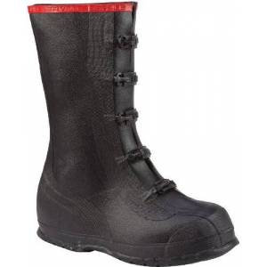 "Honeywell Safety Ranger 15"" Rubber Supersized Men's Overboots, Black (T369)"