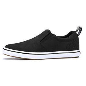 XTRATUF Sharkbyte Nubuck Zapatos de Piel para Hombre, Negro (XSB-000)