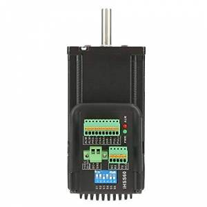 QITER Controlador de motor NEMA23, kit de servocontrolador paso a paso de circuito cerrado híbrido de 3 Nm 36 VCC IHSS60-36-30-31