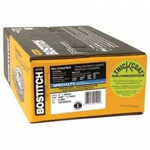 Bostitch C6P90BDG Clavo de encuadre de 15 grados, cabeza redonda, 2 pulgadas por .092 pulgadas (3.600 por caja)