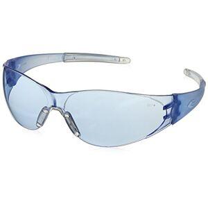 MCR Safety CK233 Checkmate 2 lentes de policarbonato azul claro con templo de bayoneta