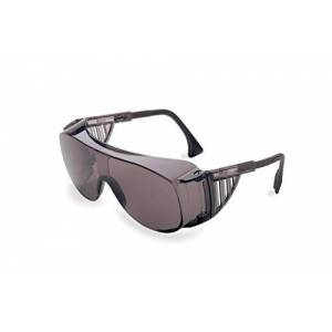 Uvex S0113 Ultra-spec 2001 OTG Safety Eyewear, Gray Frame, Gray Ultra-Dura Hardcoat Lens