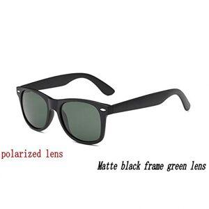 Kasuki anteojos de sol polarizadas  para mujer y hombre, clásicas, con remaches y sombras de diseñador, UV400