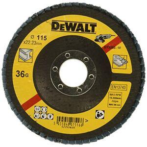 DeWalt dt3255-qz Cranked K36Disco abrasivo, 11.5cm