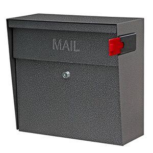 Boss 7160 Metro Locking Wall Mount Mailbox