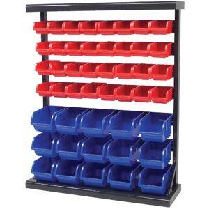 Performance Tool W5193 Half Bulk Bin Storage Rack