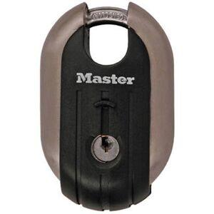 Master Lock 185D Candado de Acero Inoxidable con Gancho Protegido
