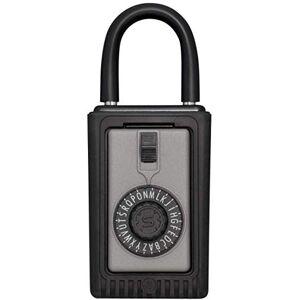 Kidde AccessPoint 001012 KeySafe Original 3-Key Portable, Spin Dial, Titanium Gray