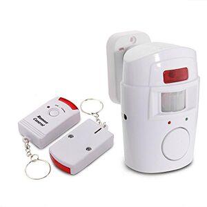 Mengshen 2 en 1 detector infrarrojo inalámbrico de movimiento del IR la seguridad del sensor del timbre de alarma con control remoto 2 MS-H88