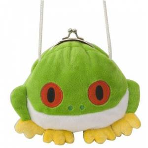 """Wild Republic Clasp Purse Red Eye Tree Frog 6"""" by"""