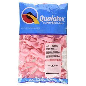 "Qualatex LA Balloons 43575 5"" Pink Latex Balloons (100 Pack)"