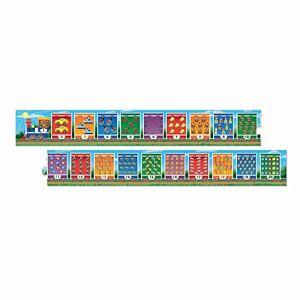 "melissa & doug Number Train Jumbo Floor Puzzle (20 Pieces, 96"" L x 7"" W)"