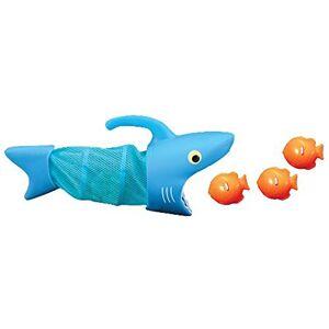 Melissa & Doug Sunny Patch Tiburón Spark caza peces (juego de piscina, 2 redes, 6 plomos de peces para atrapar)