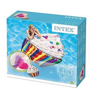 Intex Flotador Colchoneta Inflable Cupcake Piscina Adulto