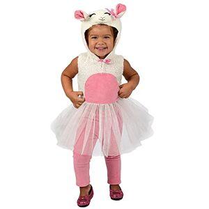 Disfraz Infantil de Liza Lamb de Princesa Paradise, como se Muestra, 12-18 Meses
