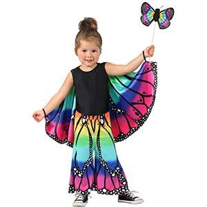 Princesa Paradise Rainbow Butterfly Pants Disfraz Infantil 18-2T