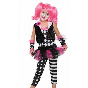 Forum Novelties Disfraz de Payaso Lil' Trixie para niños, Multicolor, Pequeño