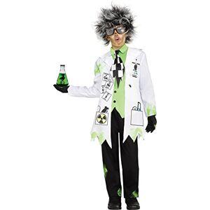 Fun World Disfraz científico Loco, pequeño 4 6, Multicolor
