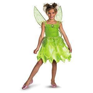 Disguise Disfraz Niñas Disney Hadas de Campanilla y El Fairy Rescue Classic Disfraz, Disfraces, Un Solo Color, X-Small