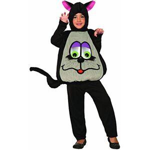 Forum Novelties Wiggle Eyes Cat Costume- Small, black