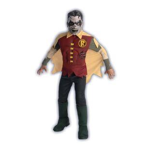 Rubie's Costume Company DC Comics Blackest Night Zombie Robin Costume, Un solo color, Pequeño