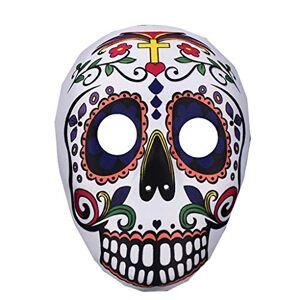 Jyfldy Máscara de Halloween Máscara de la Mascarada de la máscara del Fantasma Festival de Terror máscara de la máscara del Partido de la Mascarada del Payaso Noche Carnaval (Color : F)
